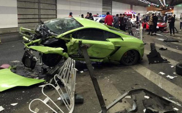 Supercar Crashes Nightmarish Videos For Car Lovers