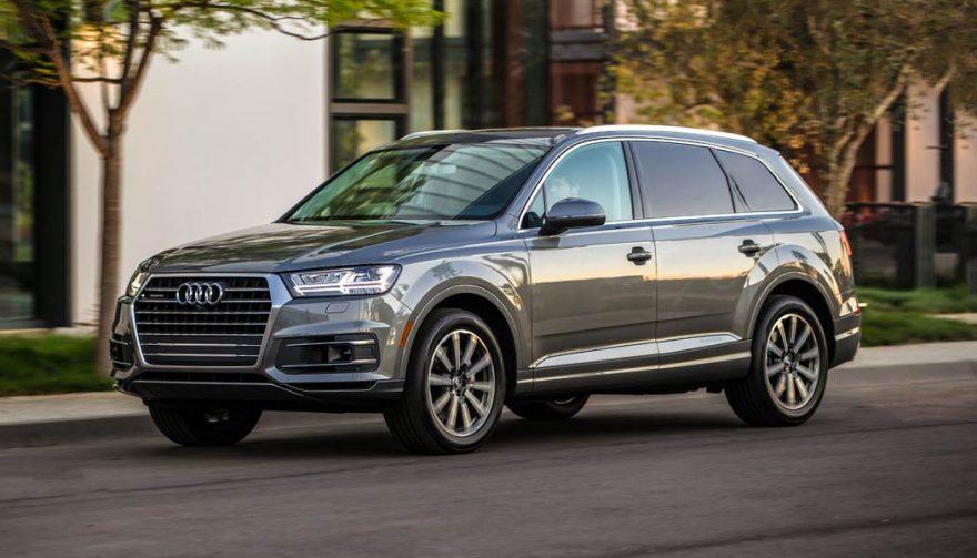 2017 Audi Q7 Awd 2017 Age