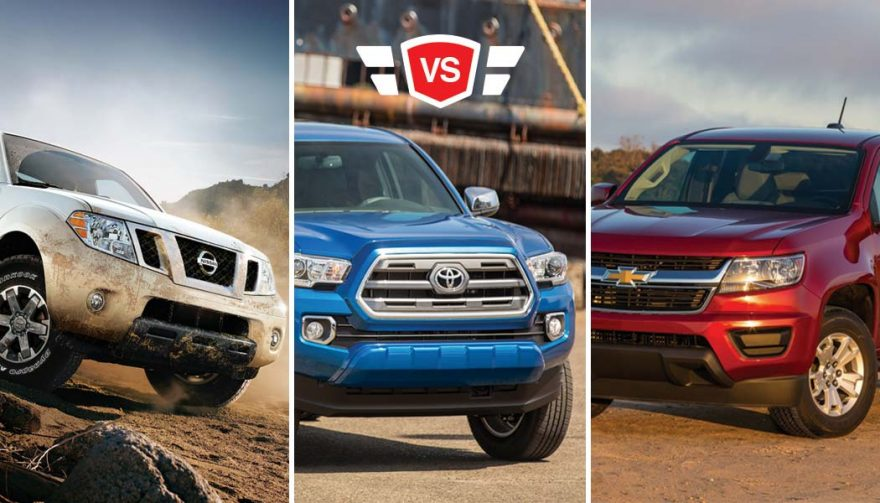 nissan frontier vs toyota tacoma vs chevy colorado truck showdown. Black Bedroom Furniture Sets. Home Design Ideas
