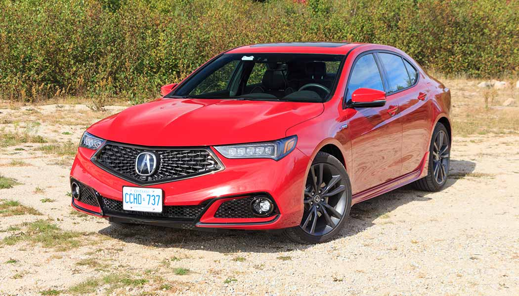 Acura Tlx A Spec Does A Facelift And New Trim Make A Sport Sedan