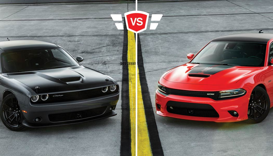 Charger vs Challenger: All-American Muscle Car Comparison
